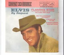 ELVIS PRESLEY - By request / Flaming star   ***EP Bra - Press***