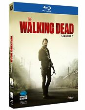 THE WALKING DEAD STAGIONE 5 (5 BLU-RAY) SERIE CULT HORROR VERSIONE ITALIANA
