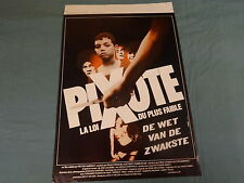 ORIGINAL MOVIE POSTER / AFFICHE - PIXOTE