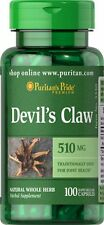 Devil's Claw 510 mg  x 100 Capsules  Puritan Pride ** AMAZING PRICE **