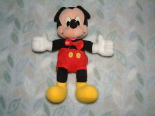 Vintage Mickey Mouse Soft Toy Matell