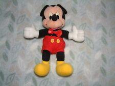 Vintage Mickey Mouse Blanda Juguete Matell