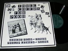 Unusual A.A. MILNE Poetry ART SONGS Three Cheers for Winnie The POOH LP 1982 MHS