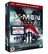 X Men and Wolverine All Films Blu Ray Collection (8 Discs) Box Set NEW & SEALED