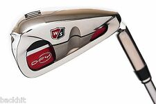 Wilson Staff Golf D-FY 6-Iron - Graphite and Steel Half and Half Shaft