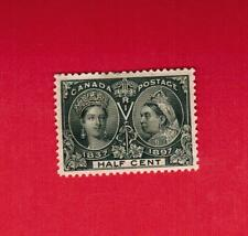 1897  #  50 *  VFH  TIMBRE  CANADA STAMP   DIAMOND JUBILEE ISSUE