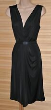 EP - Lovely elegant black dress, 14, silky soft and slithery, great CD wear