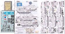 Echelon Decals 1/35 UNIFIL Leclerc T6 UN for TAM ECH356002