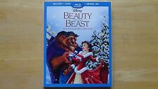 BEAUTY AND THE BEAST ENCHANTED CHRISTMAS Disney BluRay DVD HD Excl. NEW SEALED