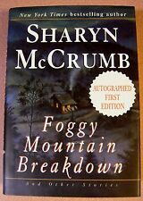 Foggy Mountain Breakdown by Sharyn McCrumb Signed 1st/1st (1997, Hardcover)