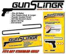 Gun Slingr Quick Draw Pistol Holder Rack - Set of 2 - Fits 22 Caliber and Larger