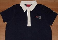 New England Patriots Polo Large Ladies Reebok Navy NFL
