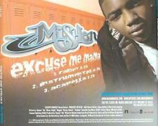 Mishon: Excuse Me Mama PROMO Music CD INTR 12467-2 Interscope 3 trk Instrumental