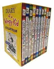 Diary of a Wimpy Kid 10 Books Box Set Collection (RRP books 1-10