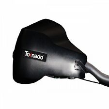 Breeze Tornado Matt Black BLOCKERS CICLO BICICLETTA Commuter MTB PARAMANO