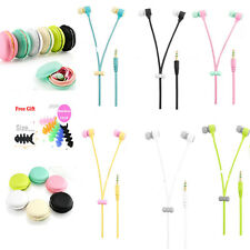 Cute Macaron Colors In-ear Headset Earphone Headphone For iPhone 6s Samsung S7