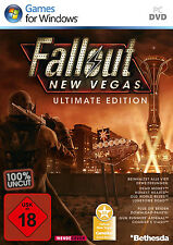 Fallout New Vegas-Ultimate Edition per PC | 100% UNCUT | merce nuova | tedesco!