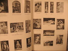 antique old Braun fine art Catalogue of old and modern masters painting prints c