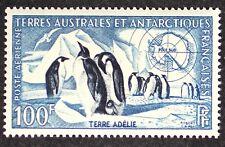 Z400 FSAT TAAF Fr. Southern Antarctic 1956 #C2 Emperor Penguins Mint NH CV$35