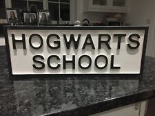 "Harry Potter ""Hogwarts School ""Sign"