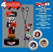DC Comics Harley Quinn Giftset of Body Knocker Scalers Earbuds Hubsnaps NECA