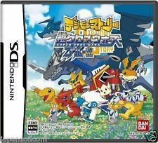 Used DS Digimon Story: Super Xros Wars Blue NINTENDO JAPANESE IMPORT