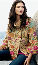 IVKO Anthropologie Serbia Wool Dream Coat Cardigan Nordic Sweater Small S