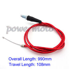 Gas Throttle Cable For Lifan YX 50-160cc CRF50 Pitster SSR YCF IMR Pit Dirt Bike