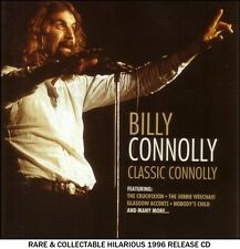 Billy Connolly - Very Best Classic Greatest Hits Collection - RARE Comedy CD -