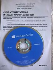 Microsoft Windows Server 2012r2 Standard Full Retail w/ 5 USER CALs& 50 RDS CALs