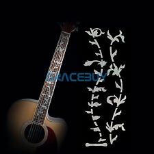 Tree of Life Guitar Bass Inlay Sticker Fretboard Marker Fret Decal Pearl White