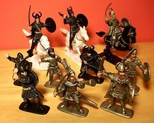 Medievil Knights Figures LOT 10 Toy Soldiers Figures