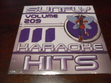 SUNFLY HITS KARAOKE  DISC SF209 VOLUME 209 CD+G SEALED 16 TRACKS