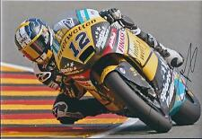 Thomas LUTHI SIGNED MotoGP INTERWETTEN Race Team Autograph 12x8 Photo AFTAL COA