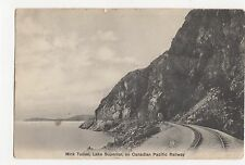 Canada, Mink Tunnel, Lake Superior, Canadian Pacific Railway Postcard, A560