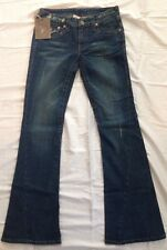 True Religion Joey Blue Jeans size 29 NWT New Flare Leg Distressed
