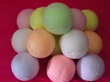6 LARGE BATH BOMBS FIZZY 10  LUSH mix FRAGRANCE  great gift