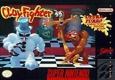***CLAYFIGHTER SNES SUPER NINTENDO GAME COSMETIC WEAR~~~