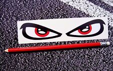 ANGRY EYES / Evil eyes Helmet Stickers Moto GP Superbikes DUCATI 80MM Visor Eyes