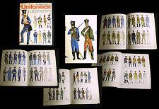 UNIFORMEN Buch 18.Jhd Napoleon 1. 2. WK Civilwar Bürgerkrieg Bemalung Zinnfigur