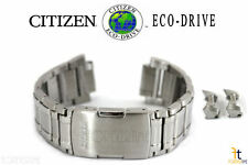 Citizen Eco-Drive 4-S075173 Stainless Steel Watch Band Strap 4-S076862
