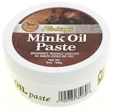 Fiebing's Mink Oil Paste Leather Conditioner 6 Ounce 2346-01 Fiebing's