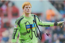 BOLTON WANDERERS HAND SIGNED ADAM BOGDAN 6X4 PHOTO.