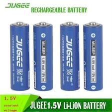 4X jugee 1.5v 3000mWh AA rechargeable Li-polymer li-ion polymer lithium batter