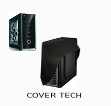 Computer Desktop PC FULL size-Tower WaterProof Dust Cover  in Grey