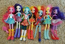 My Little Pony Equestria Girl Dolls Lot of 6