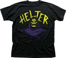 HELTER SKELTER HE-MAN Skeletor Masters of the UNIVERSE black t-shirt 9640
