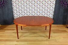 Table Ronde Scandinave en Teck V.V.Mobler Vintage 1968 - DesignVintage Avenue