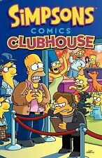 Simpsons Comics Clubhouse by Matt Groening (2015, Paperback)