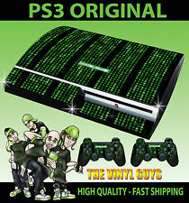 PLAYSTATION PS3 OLD SHAPE MATRIX CODE SYSTEM FAILURE STICKER SKIN & PAD SKINS